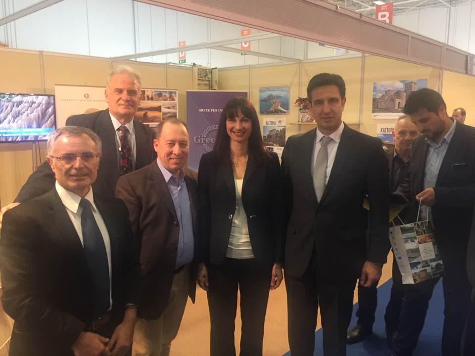 Στην 3η Διεθνή Έκθεση Τουρισμού Greek Tourism Expo 2016 ο Αντιπεριφερειάρχης Καστοριάς