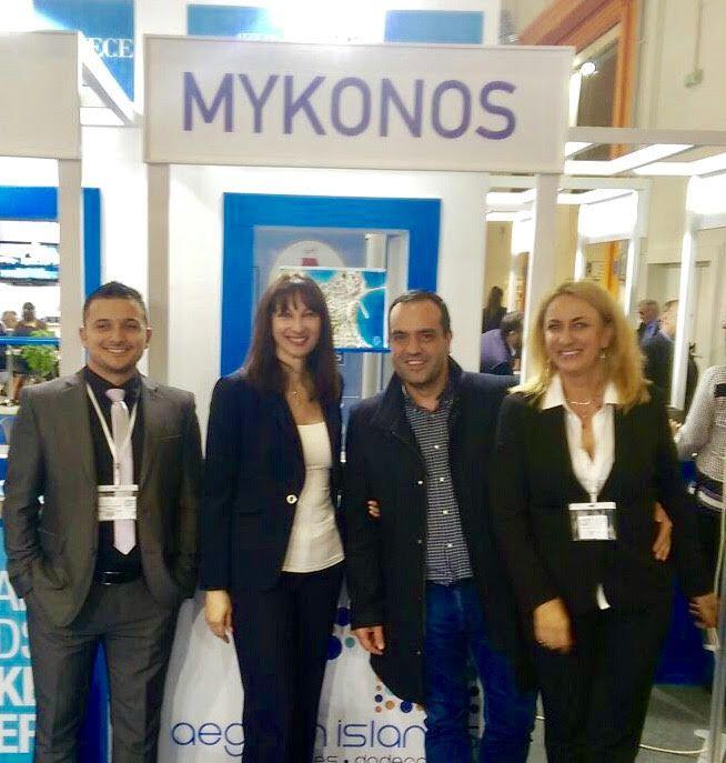 Ο Δήμαρχος Μυκόνου Κωνσταντίνος Κουκάς στην Greek Tourism Expo 2016
